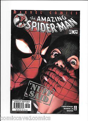 Silent Spider - Amazing Spider-Man #39 | 1999 Series | Very Fine/Near Mint (9.0) | Silent Issue