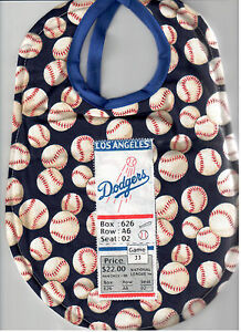Baseball lovers MLB Baby Bibs-With Team Tickets-Yankees, Giants & more