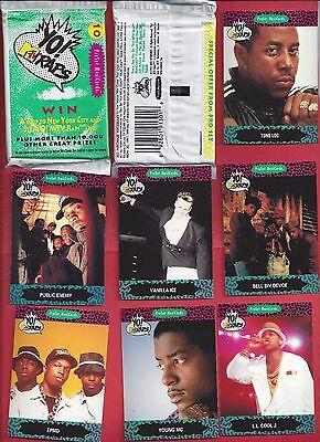 1991 Pro Set YO MTV RAP MusiCards single Wax Pack