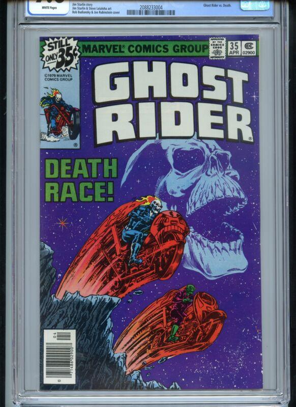 Ghost Rider #35 CGC 9.6 White Death Race