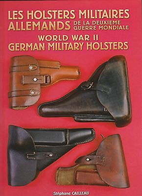 WW2 GERMAN MILITARY HOLSTERS : FREE ENGLISH TRANSLATION on USB KEY