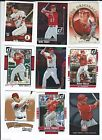 Donruss Mike Trout Lot Baseball Cards