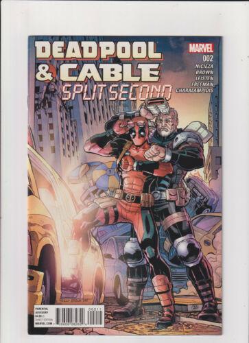 Deadpool & Cable: Split Second #2 NM- 9.2 Marvel Comics