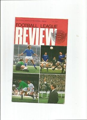 Football League Review   - Colour Picture: Oldham Athletic 1970-71