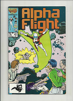 Alpha Flight #42 NM-