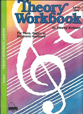 Schaum  Theory Workbook  Level One By Wesley  Schaum Old Cover