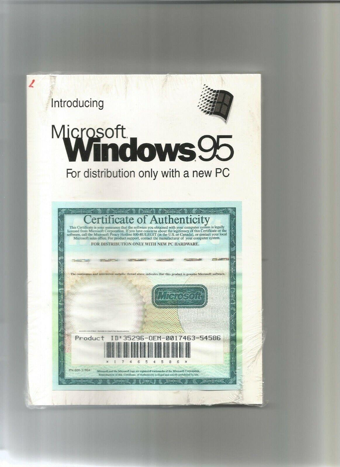 LIVRE : INTRODUCING MICROSOFT WINDOWS 95 en anglais   2