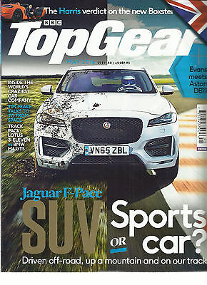 Bbc Top Gear Magazine  Uk Edition   May  2016    Issue 282   Suv Or Sports Car