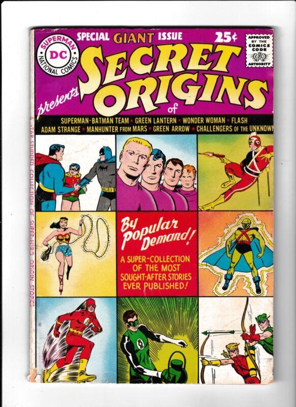 Secret Origins No.1  : 1961 :   : Special Giant Issue! :