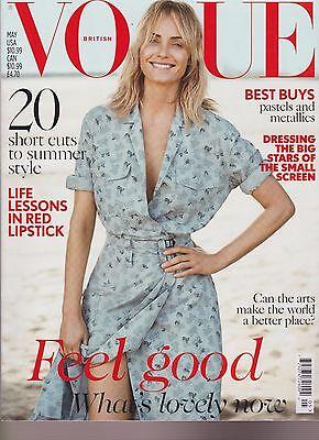 Vogue British Magazine May 2017  Amber Valletta