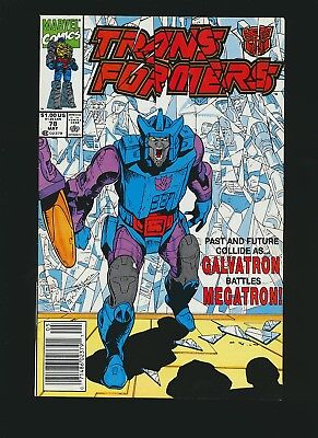 Transformers #78, 9.0/VF to NM, Newsstand Edition
