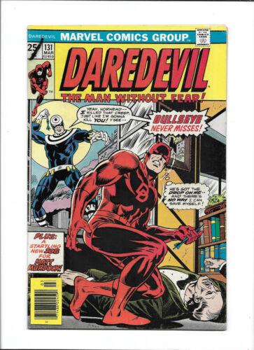 DAREDEVIL #131 [1976 VG+] 1ST BULLSEYE!