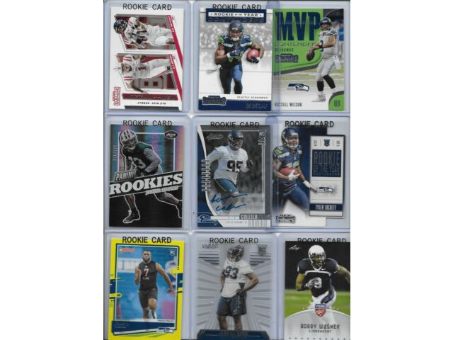 Seahawks Rookie Lot of (16) w/ Autograph Collier Lockett Metcalf Adams Wilson