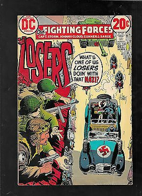 Our Fighting Forces 140 1972 Kubert Severin good-vg 3.0 FREE ship USA