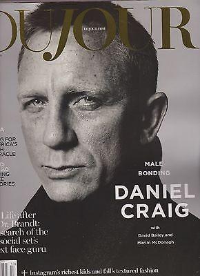 DUJOUR MAGAZINE FALL 2015, DANIEL CRAIG.