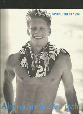 Abercrombie & Fitch 1999 Catalog A&F Quarterly SPRING BREAK SEXY! HOT! YOUNG!