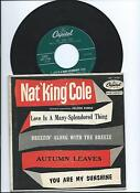 Nat King Cole Love Is A Many Splendored Thing