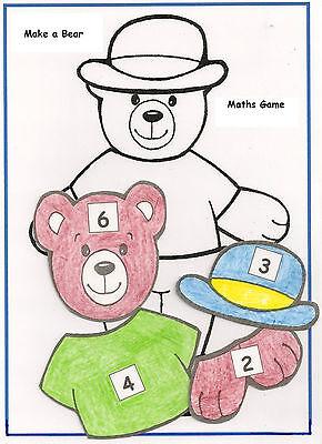 MAKE-A-BEAR  – Reception Class Maths Game