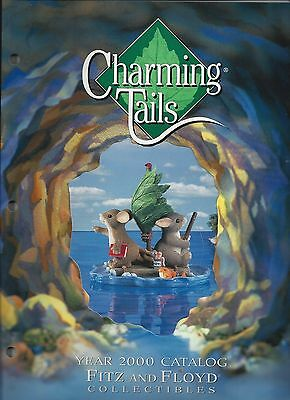 Retired Charming Tails Catalog 2000 Fitz and Floyd Collectibles