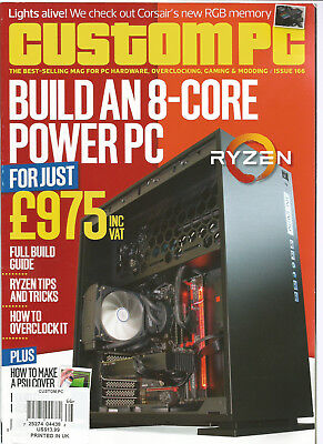 CUSTOM PC THE BEST SELLING MAG FOR PC HARDWARE,OVERCLOCKING,GAMING ISSUE 166