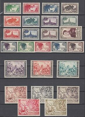 Laos 1951-1968 100% Complete Collection MNH Luxe (plus 14 Souvenir Sheets MNH)