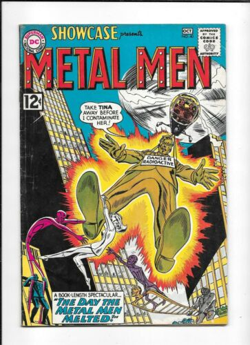 SHOWCASE #40 ==> FN+ METAL MEN DC COMICS 1962