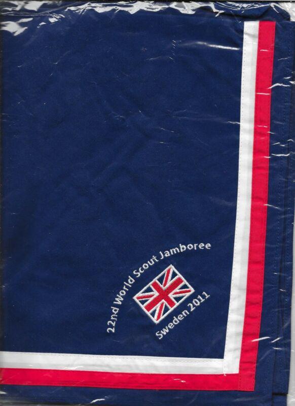 2011 Boy Scouts British ? Contingent Neckerchief 22nd World Jamboree Sweden