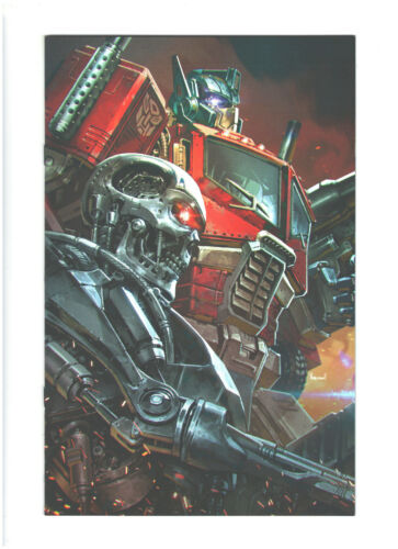 Transformers vs Terminator #1 - Kael Ngu Convention Virgin Exclusive - 2020 IDW