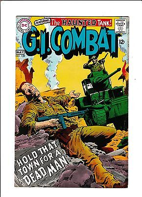 G I Combat No 129    1968        Hold That Town For A Dead Man