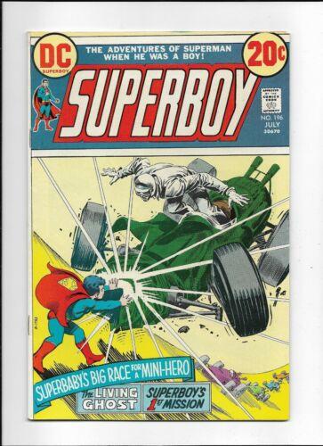 Superboy #196 (1973) FN+ 6.5