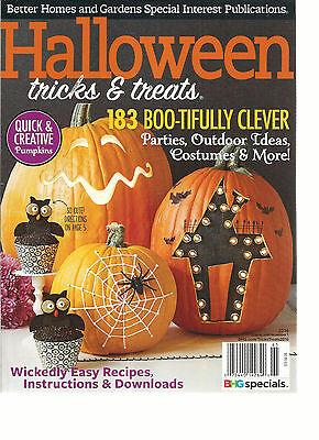 HALLOWEEN TRICKS & TREATS MAGAZINE,  2016    183 BOO-TIFULLY CLEVER, PARTIES  (Treats Magazine Party Halloween)