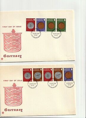 **402  Guernsey First Day covers (3)