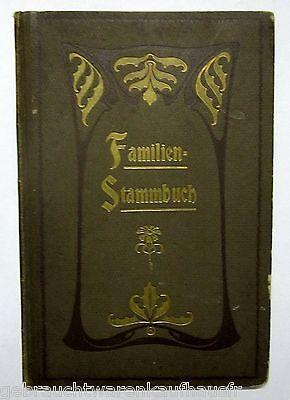 Familien Stammbuch ausgefüllt von 17.April 1906 Familie Keller bis 1946 geführt