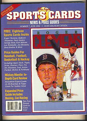 Allan Kayes Sports Cards News And Price Guide  7 June  1992