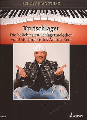 Klavier Noten - KULTSCHLAGER - die beliebtesten Schlagermelodien -