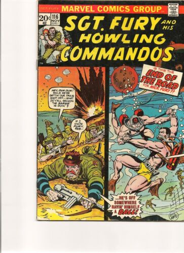 Sgt Fury and his Howling Commandos # 116 - Bronze Age !