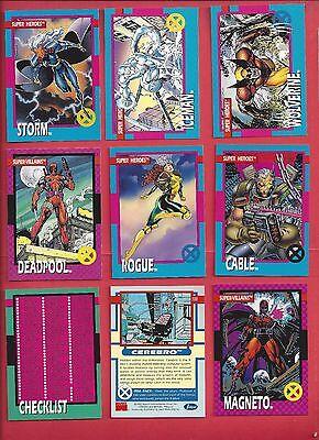 1992 X-MEN SERIES I IMPEL MARVEL  Complete Your Set U pick 6 cards NM to Mint