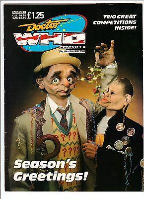 DOCTOR WHO Ammunition #144 Sylvester McCoy SEASON'S GREETINGS! 1989