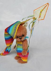 Miniature-teddy-bear-3-inch-avateddy-OOAK