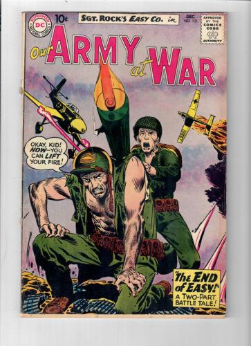 OUR ARMY AT WAR #101 - Grade 4.0 - Joe Kubert cover & art! Sgt. Rock!
