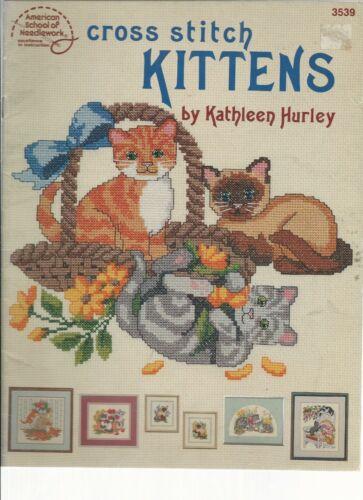 Cross Stitch Kittenes  3539