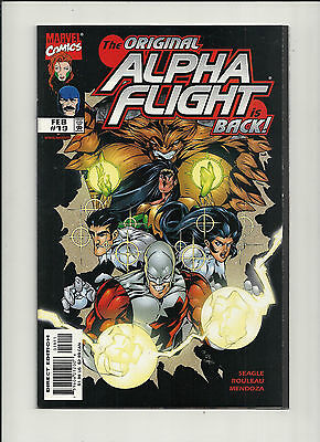 Alpha Flight #19 NM  Vol 2