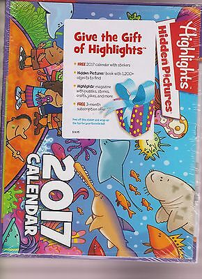 Highlights Magazine Holiday Pack 2016  W 2017 Calendar   More  Sealed Pack