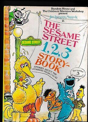THE SESAME STREET 1, 2, 3 STORYBOOK-Kelly Oechsli-Mel Crawford-Jim Henson's Mupp (Kelly Henson)