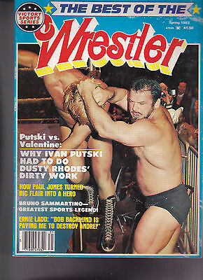 The Best of the Wrestler Ivan Putski Ric Flair Bruno Sammartino Spring