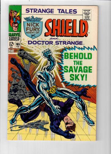 STRANGE TALES #165 - Grade 9.0 - Jim Steranko cover! Fury & Strange!