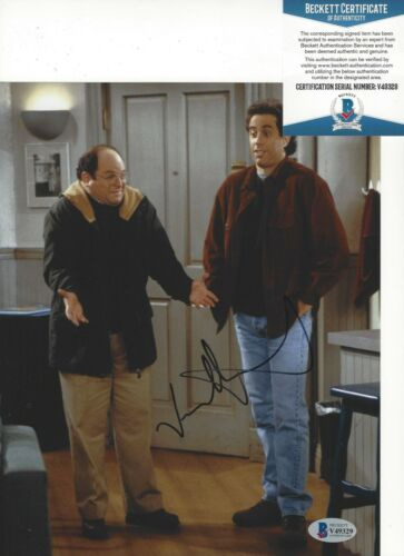 ACTOR JASON ALEXANDER SIGNED 'SEINFELD' 8x10 PHOTO 1 BECKETT COA GEORGE COSTANZA