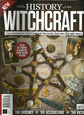 HISTORY WITCHCRAFT MAGAZINE, THE EVIDENCE * THE ACCUSATION * THE VICTIMS ,  2018 for sale  Cypress