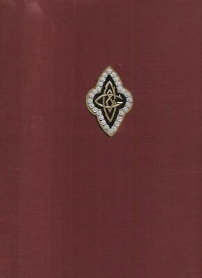 The History of CAP AND GOWN 1890 1950 Princeton University Club vtg 1st Ed book