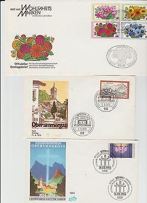Bund 1959-1984  6 FDC